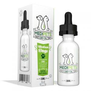 MediPets CBD Oil for Medium Dogs [50mg] - CBD Tincture