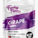 Funky Farms CBD: Grape Gummies featuring 10mg of CBD in EACH Gummy!