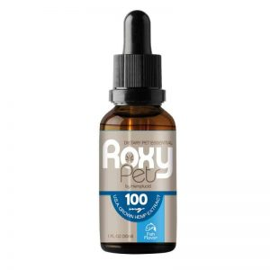 Roxy Pets CBD Oil for Cats: 100mg Hemp Oil Extract