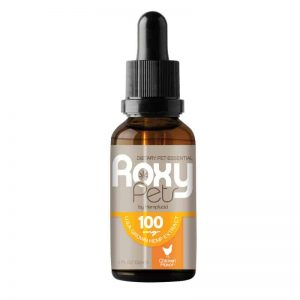 Roxy Pets CBD Oil for Dogs: 100mg Hemp Oil Extract