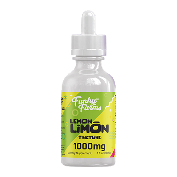 Get a tincture of Lemon Limon CBD Hemp Oil Extract from Funky Farms and build a path to better health today.