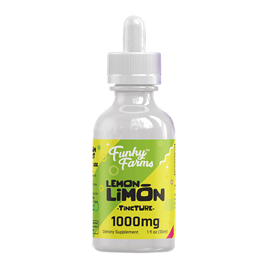 Full Spectrum Flavored CBD Tinctures from Funky Farms CBD ⋆ Hemp Oil  Rockstar