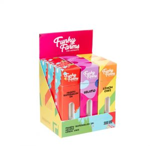 Funky Farms CBD offers a fine selection of CBD vape products for you