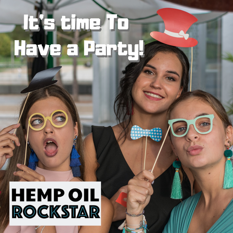 Host a Hemp House Party with Hemp Oil Rockstar at your home and earn FREE hemp oil products!