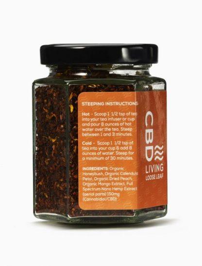 Organic Loose Leaf Tea with CBD Mango