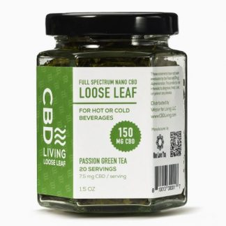 Passion Green Tea CBD