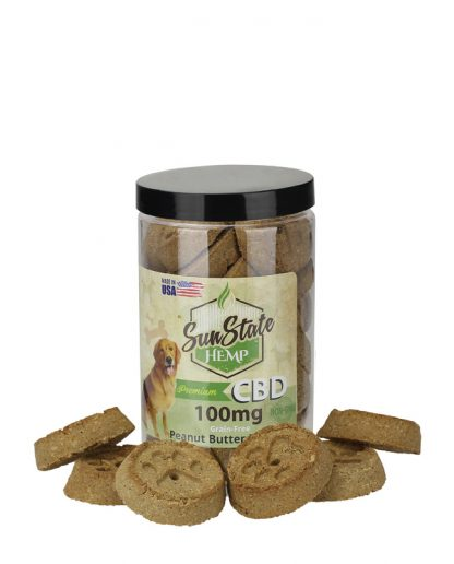 Pet Treats with CBD - Peanut Butter for Dogs